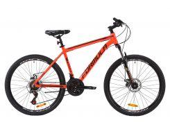"""Велосипед AL 26"""" Formula THOR 2.0 AM DD рама-18"""" красно-черный с золотым 2020 (OPS-FR-26-354)"""
