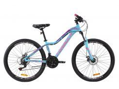 """Велосипед AL 26"""" Formula MYSTIQUE 1.0 AM DD рама-16"""" перламутрово-голубой с розовым 2020 (OPS-FR-26-362)"""