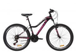 """Велосипед AL 26"""" Formula MYSTIQUE 2.0 AM Vbr рама-13,5"""" черно-малиновый с серебристым 2020 (OPS-FR-26-368)"""