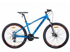 "Велосипед AL 26"" Leon HT-90 AM DD рама-16.5"" синий с оранжевым (м) 2020 (OPS-LN-26-057)"