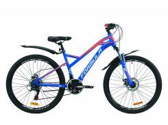 """Велосипед ST 26"""" Formula DRIFT AM DD рама-16.5"""" сине-оранжевый с белым (м) с крылом Pl 2020 (OPS-FR-26-394)"""