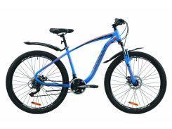 """Велосипед ST 27.5"""" Formula KOZAK AM DD рама-17,5"""" сине-оранжевый 2020 (OPS-FR-27.5-051)"""