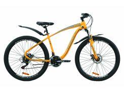 """Велосипед ST 27.5"""" Formula KOZAK AM DD рама-17,5"""" оранжево-черный с серым 2020 (OPS-FR-27.5-049)"""