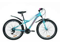 """Велосипед ST 26"""" Formula ELECTRA AM Vbr рама-15.5"""" бирюзовый с крылом Pl 2020 (OPS-FR-26-409)"""