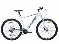 """Велосипед AL 27.5"""" Leon XC-70 AM Hydraulic lock out HDD рама-18"""" бело-серый с черным 2020 (OPS-LN-27.5-069)"""