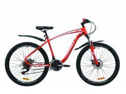 """Велосипед ST 26"""" Formula KOZAK AM DD рама-17,5"""" красный с крылом Pl 2020 (OPS-FR-26-412)"""