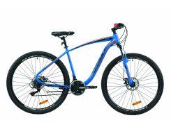 """Велосипед ST 29"""" Formula KOZAK AM DD рама-19,5"""" сине-оранжевый 2020 (OPS-FR-29-073)"""