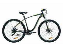 "Велосипед ST 29"" Formula KOZAK AM DD рама-19,5"" черно-серый с желтым (м) 2020 (OPS-FR-29-071)"