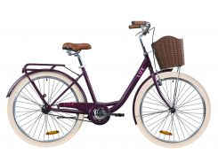 "Велосипед 26"" Dorozhnik LUX 2020 (сливовый (м))"