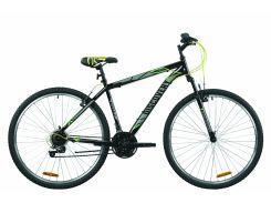 """Велосипед 29"""" Discovery RIDER 2020 (черно-серый с зеленым)"""