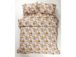Постельное белье Lotus Ranforce - Jadore оранжевый двуспальное (2000008472210)