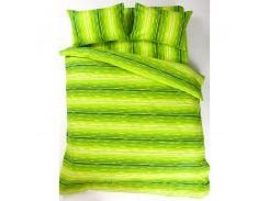 Постельное белье Lotus Ranforce - Metropolis зеленый семейное (2000008476768)