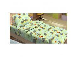 Детское постельное белье для младенцев Lotus ранфорс - FiLi зеленый (2000008474351)