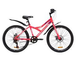 "Велосипед ST 24"" Discovery FLINT DD рама-14"" розовый с крылом Pl 2020 (OPS-DIS-24-167)"