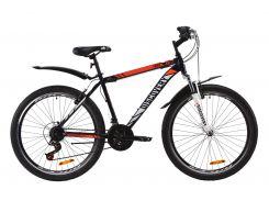 """Велосипед ST 26"""" Discovery TREK AM Vbr рама-18"""" сине-оранжевый с крылом Pl 2020 (OPS-DIS-26-286)"""