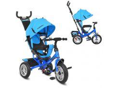 Трехколесный детский велосипед M 3113-5A голубой