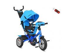 Трехколесный детский велосипед M 3115-5HA голубой салатовый
