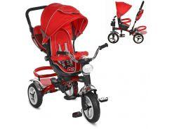 Детский трехколесный велосипед M 3199-3HA красный синий