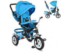 Детский трехколесный велосипед M 3199-5HA синий салатовый