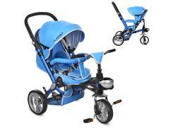Трехколесный детский велосипед M AL3645-12 синий
