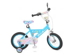 Велосипед детский PROF1 14д. L14133 голубой