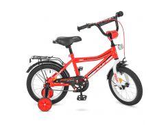 Велосипед детский PROF1 14д. Y14105 красный