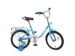 Велосипед детский PROF1 16д. L1684 голубой