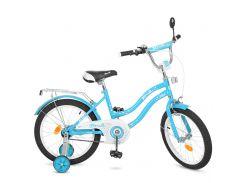 Велосипед детский PROF1 16д. L1694 голубой