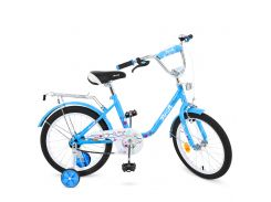 Велосипед детский PROF1 18д. L1884 голубой