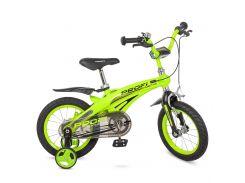 Велосипед детский PROF1 14д. LMG14124 зеленый