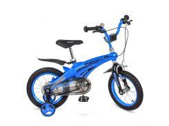 Велосипед детский PROF1 14д. LMG14125 синий