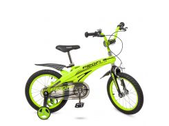 Велосипед детский PROF1 16д. LMG16124 розовый