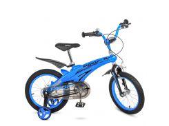 Велосипед детский PROF1 16д. LMG16125 фиолетово-розовый