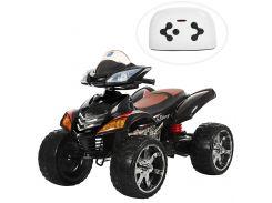 Детский квадроцикл Bambi M 3101 EBLR-2 MP3, черно-красный