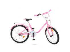Велосипед детский PROF1 20д. Y2081 розовый