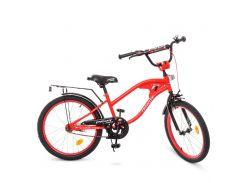 Детский велосипед PROF1 20д. Y20181 TRAVELER красный