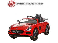Детский электромобиль Bambi M 2760 EBLR-3 Mercedes Benz AMG, красный