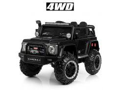 Детский электромобиль Джип Bambi M 4150 EBLRS-2 Jeep, черный