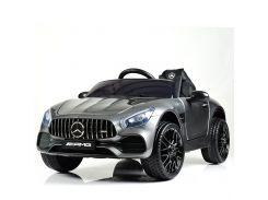 Детский электромобиль Bambi M 4062 EBLRS-11 Mercedes, серый