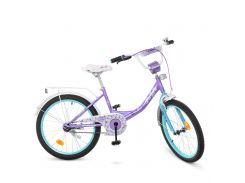 Детский велосипед PROF1 20д. Y2015 Princess сиренево-мятный