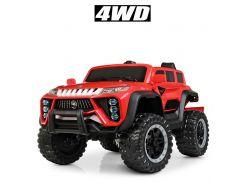 Детский электромобиль Джип Bambi M 4138 EBLR-3 Jeep, красный