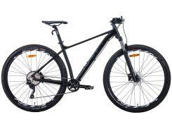 """Велосипед AL 29"""" Leon TN-60 AM с локаутом HDD рама-17"""" черный (м) 2020 (OPS-LN-29-086)"""