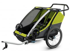 Детская коляска Thule Chariot Cab 2 (Chartreuse) (TH 10204003)