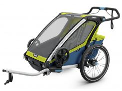 Детская коляска Thule Chariot Sport 2 (Chartreuse-Mykonos) (TH 10201004)