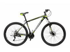 """Велосипед Cross Leader 29""""19"""" Чёрный-Неоновый Жёлтый-Белый (29CJPr19-65)"""
