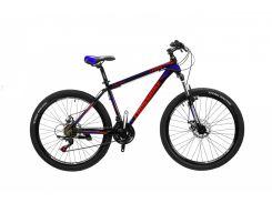 """Велосипед Cross Leader 26""""15"""" Чёрный-Голубой-Красный (26CJPr19-48)"""