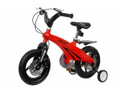 Детский велосипед Miqilong GN Красный 12` MQL-GN12-Red (MQL-GN12-Red)