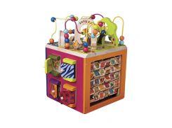Развивающая деревянная игрушка - ЗОО-КУБ (размер 34х30х45 см)