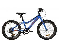 """Велосипед AL 20"""" Formula ACID 1.0 Vbr рама-11"""" сине-черно-оранжевый 2020 (OPS-FR-20-049)"""