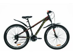 """Велосипед ST 26"""" Formula SPECIAL AM Vbr рама-13"""" черно-камуфляжный с оранжевым (м) с крылом Pl 2020 (OPS-FR-26-422)"""
